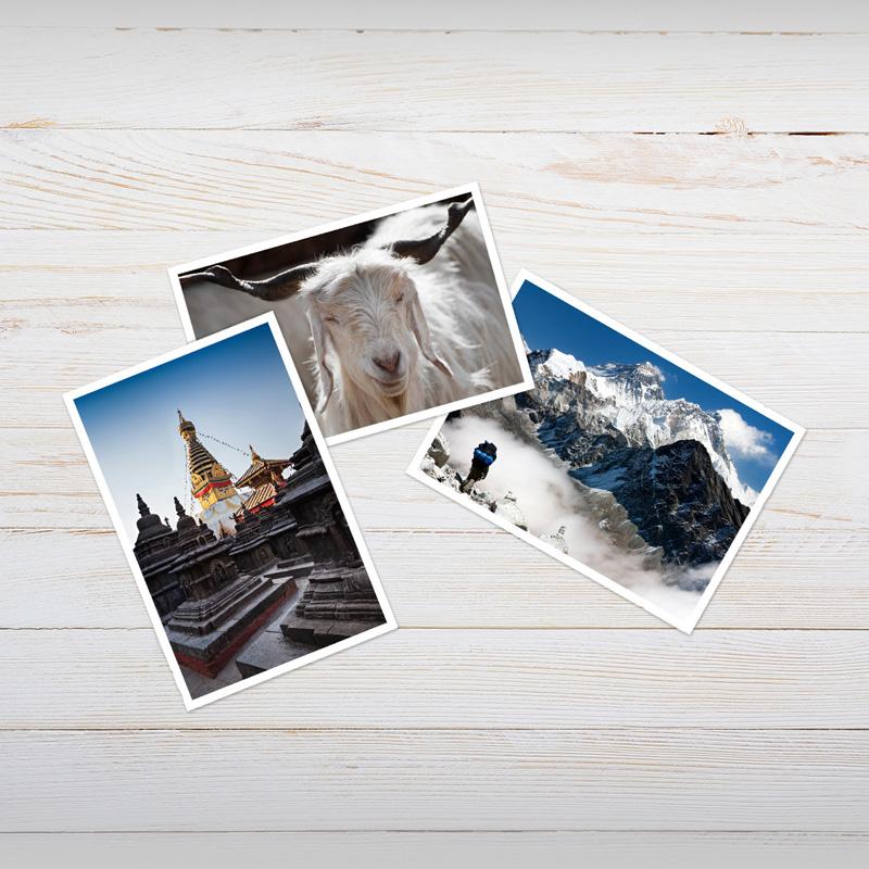 Abzüge mit weissem Rand | ALDI Foto Service